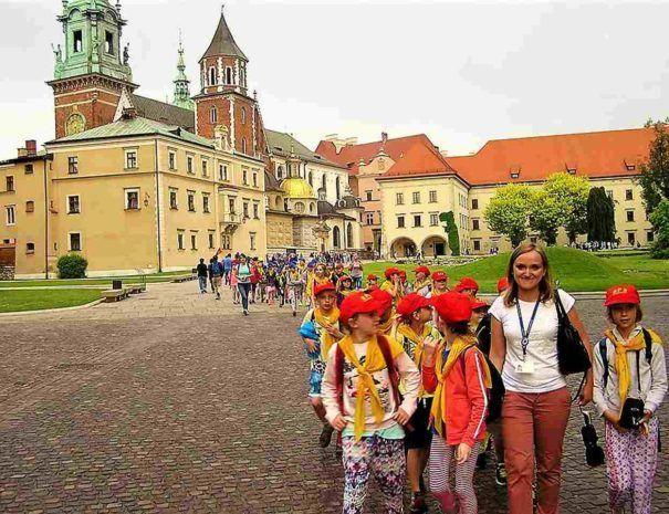 wycieczka z przewodnikiem na Wawel