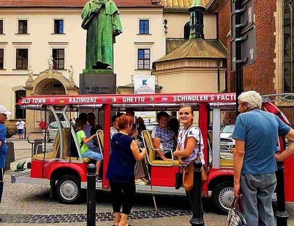 Zwiedzanie Krakowa z przewodnikiem meleksem