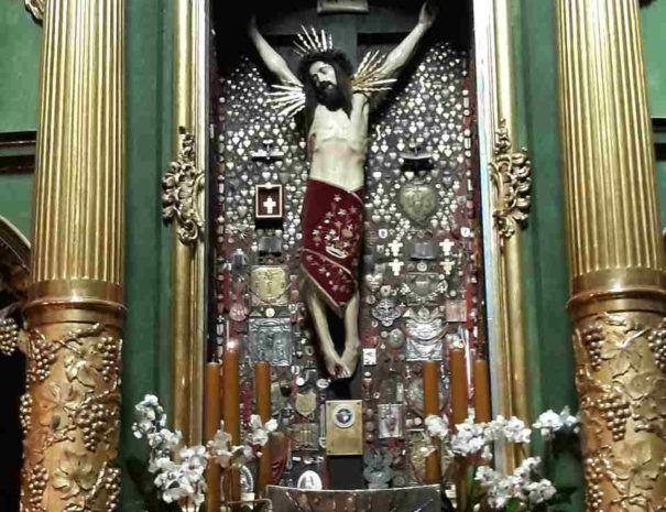 opactwo Cystersów w Mogile figura Chrystusa