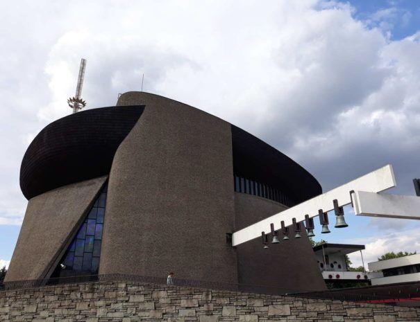 kościół Arka Pana w Nowej Hucie w Krakowie