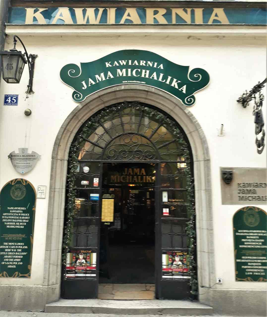 Jama Michalika jedną z atrakcji Krakowa
