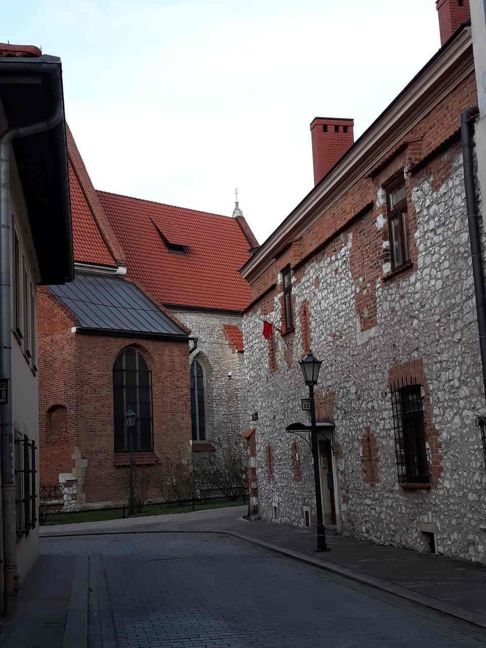 spacer po Krakowie w walentynki
